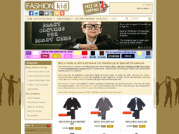 Fashion-Kid Shop Homepage